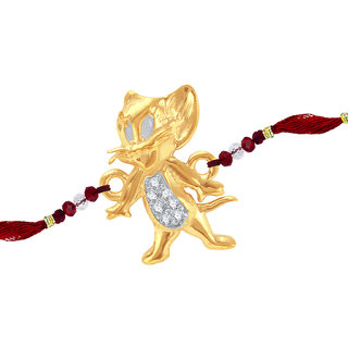 Sukkhi Cubic Zirconia Studded Jerry Rakhi For Kids