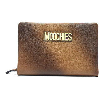 Moochies Beige Mens pure leather wallet emzmocwwA011antique