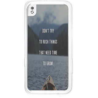 Instyler Digital Printed Back Cover For Htc 820