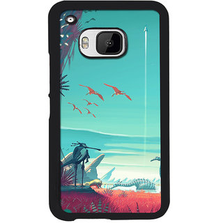 Instyler Digital Printed Back Cover For Htc M9
