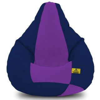 DOLPHIN XXXL N.Blue/Purple-FABRIC-FILLED(with Beans)