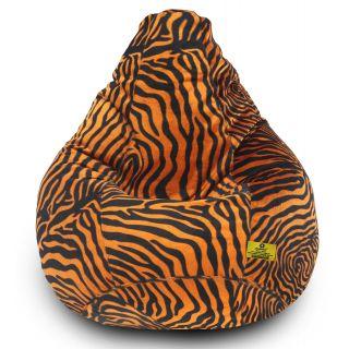DOLPHIN XXXL Golden Zebra-FABRIC-FILLED(with Beans)