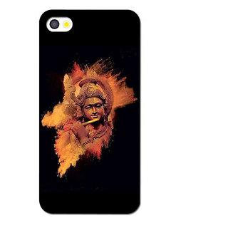 Instyler Premium Digital Printed 3D Back Cover For Apple I Phone 5
