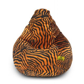 DOLPHIN XXL Golden Zebra-FABRIC-FILLED(with Beans)