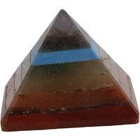 Satyamani Natural Seven Chakra Pyramid 1 (SMAS2001N)