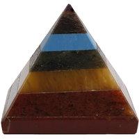 Satyamani Natural Seven Chakra Pyramid 2 (SMAS2002N)