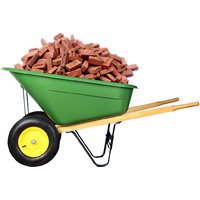 Bigapple Premium Quality Wheel Barrow 160 KG Capacity