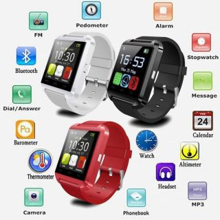 U8 Bluetooth Smart Watch For Android Smart Phones And Iphone / Fitness Watch - Assorted Colors Strictly