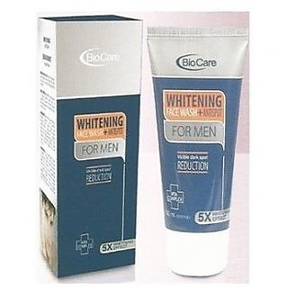 BIOCARE WHITENING (5WHITENING EFFECT)FACE WASH FOR MEN 150ML.