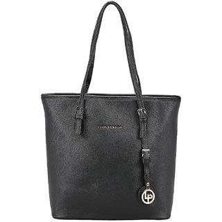 Lino Perros Black Hand Bag LWHB01901BLACK