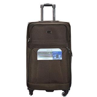 Exclusive American Club Brown Unisex nylon strolley bag emzlugAC4010s20coffee