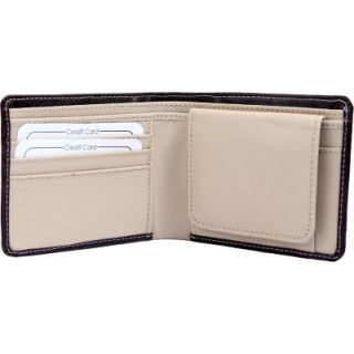 Rohilla Men Black Artificial Leather Wallet  4 Card Slots  KBH WW1  Synthetic leather/Rexine
