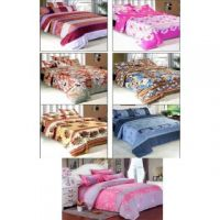 HDECORE Polyester set of 7 double bedsheets(HD-7)