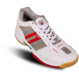 Kwickk Badminton Shoes 04013 Red