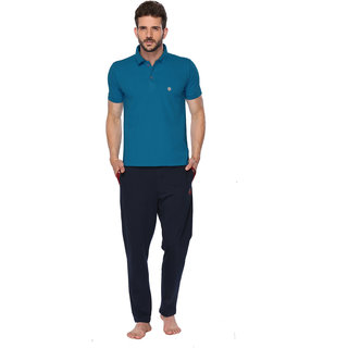 ONN Bright Blue Polo Tshirt For Men