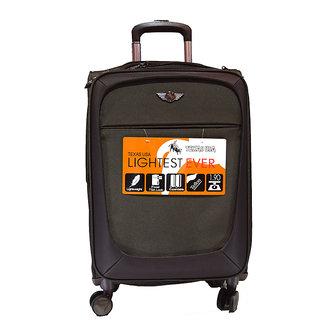 Texas Brown Unisex nylon strolley emzlug5002s24cof