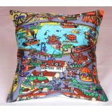 Digital Print Cushion Cover Set Of 2Pc Td-1367