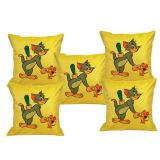 Digital Print Cushion Cover Set Of 5Pc Td-1549