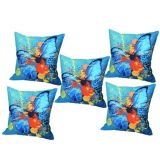 Digital Print Cushion Cover Set Of 5Pc Td-1579