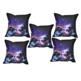 Digital Print Cushion Cover Set Of 5Pc Td-1377