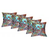 Digital Print Cushion Cover Set Of 5Pc Td-1369