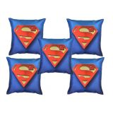 Digital Print Cushion Cover Set Of 5Pc Td-1389