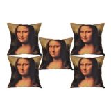 Digital Print Cushion Cover Set Of 5Pc Td-1394