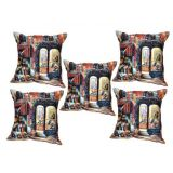Digital Print Cushion Cover Set Of 5Pc Td-1502