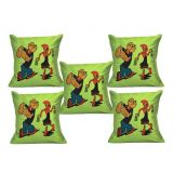 Digital Print Cushion Cover Set Of 5Pc Td-1504