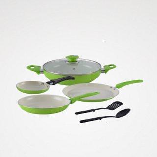 Alda CC Cookware Gift Set-6 Glass Lid