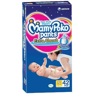 Mamy Poko Small Size Baby Diapers Small 42