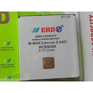 ERD 1200mAh Battery (For Micromax Canvas 2 A110)