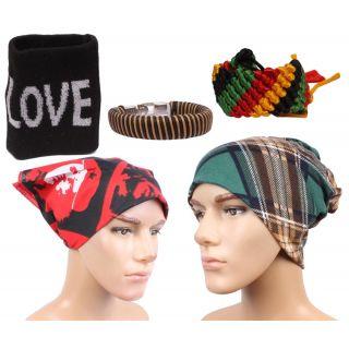 Sushito Afghani Winter Cap With Stylish Headwrap  Wrist Band JSMFHCP1358-JSMFHWB0828-JSMFHHR0196