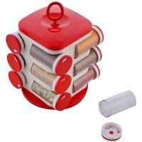 Jony Rotating Spice Rack (masala rack) Red