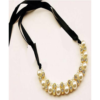 Shining Diva Non Plated Multi Necklace Set For Women-CFJ6016np