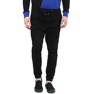 Hypernation Slim Fit Mens Black Jeans