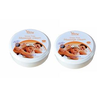 Massage Cream (Stress Free) 100 gm Set of 2