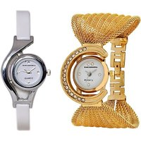 Fancy Glory Watch Combo Pack For Girls/women By Crazy Online