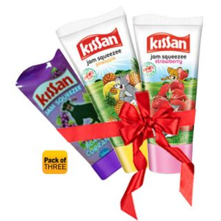 [HPD] Kissan Jam Squeezee Pack Of 3 at Rs. 38 Kissanjam_1366180734