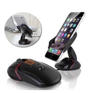 Mouse Car Dashboard Mount Mobile Phone GPS Stand Holder