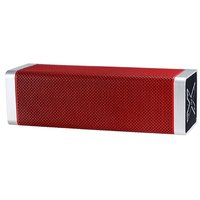 Acromax X-One Portable Bluetooth speakers with Mic and FM Radio - Red