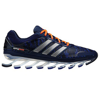 Adidas Replica Mens Springblade Trainers Navy Sliver Orange