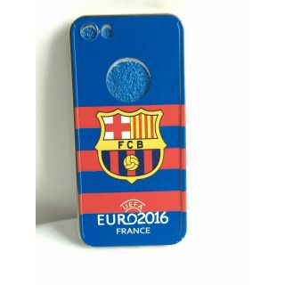 RS 360 degree  full Protection cover for iphone 6/6s with free temperred glass(barca-blue)