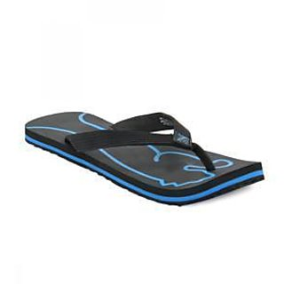 Combo Pack Puma Lynx Electric Blue Flipflops With A Pair Of Assorted JBS Socks