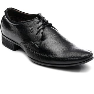 Lee Cooper Mens 1341 Black Formal Shoes