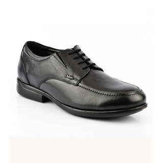 Lee Cooper Mens 2146 Black Formal Shoes