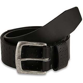 Pardigm Men Black Leather Belt