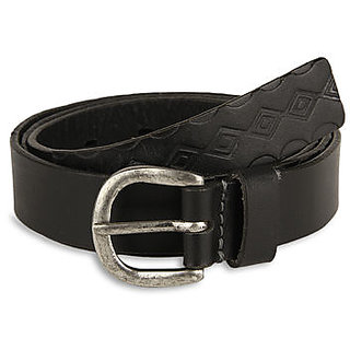 Pardigm Women's Black Leather Belt - Option 1