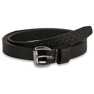 Pardigm Women's Black Leather Belt - Option 2