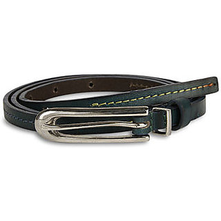 Pardigm Women's Blue Leather Belt